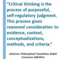 Critical thinking definition from the APA Delphi Expert Consensus