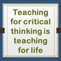 EDUCATE INSIGHT: Teaching for critical thinking is teaching for life