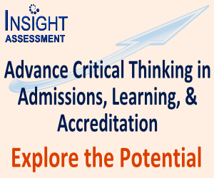 Advance Critical Thinking in Admissions, Learning & Accreditation